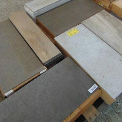 ASSORTED SIZE AND STYLE TILE,