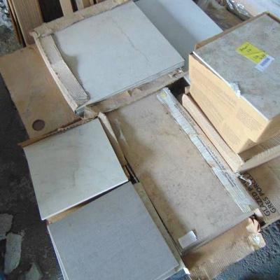 ASSORTED LOT OF TILE.