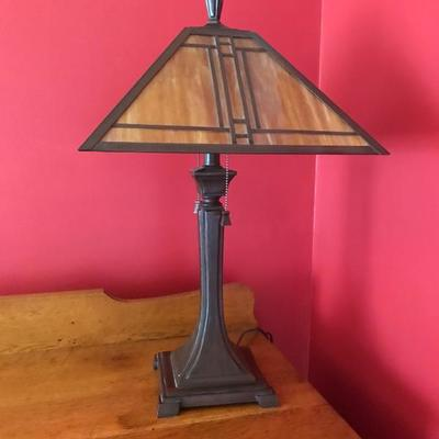 Arts and Crafts Style Desk Lamp