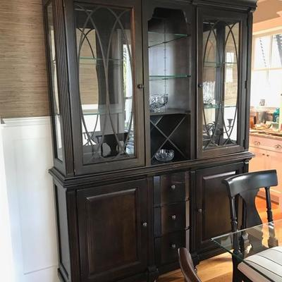Stanley china cabinet $475 65 X 17 X 88