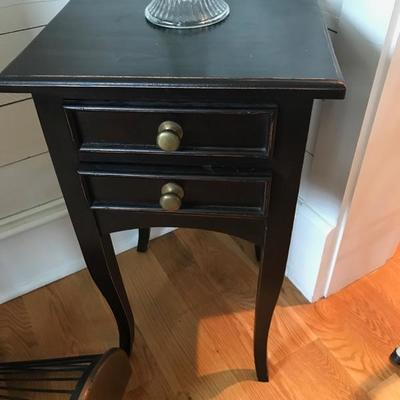 Table with drawer $45 15 X 13 1/2 X 27