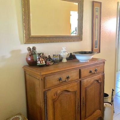 Antique French Provincial Buffet - $995 - (45W  19D  42H)