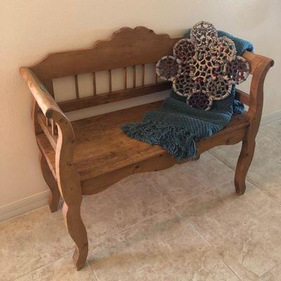 Antique Bench from