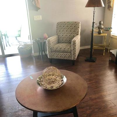 2 Flexsteel upholstered chairs SOLD