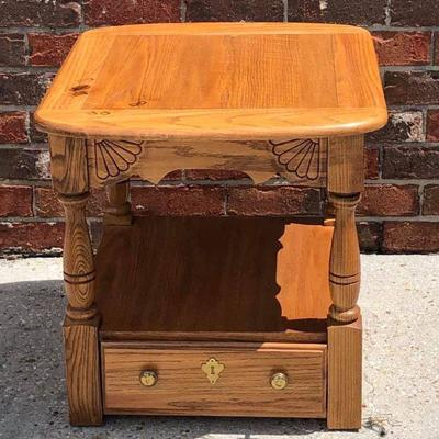 BR0113 Blond End Table # 1 Local Pickup https://www.ebay.com/itm/113816127310