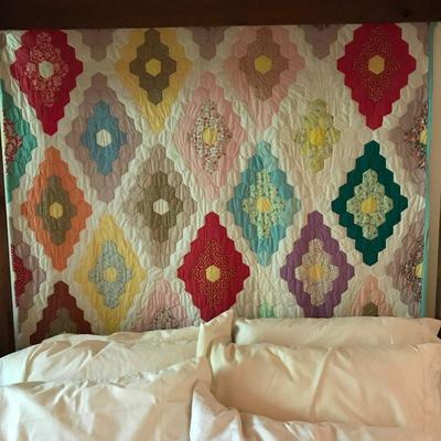Antique Hand Sewn Quilts