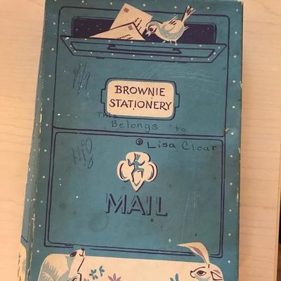 Brownie stationary box $5