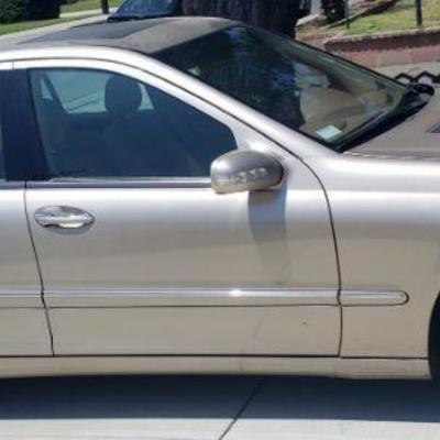 2004 Mercedes Benz C-class C240 Sedan V6 2.4 liter with 57,000 original miles in good condition