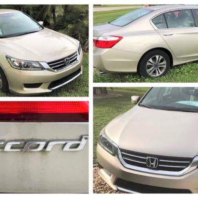 2015 Honda Accord with ONLY 6600 miles.  Excellent one-owner condition!