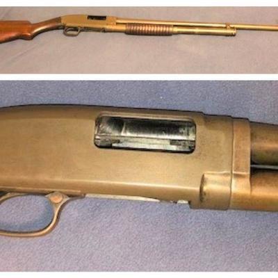 1924 Winchester Model 12- 20 gauge in OD green