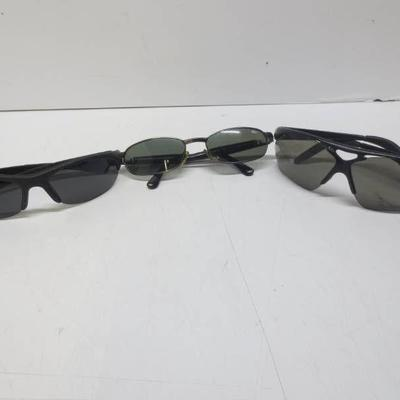 Lot of 3 Bolle Parole, and 2 unknown bolle sunglas ...