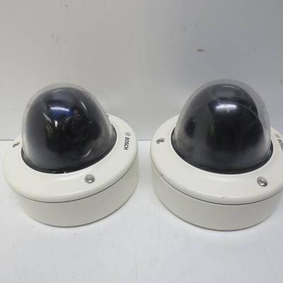 Lot of 2 Bosch VDA-455SMB security cameras