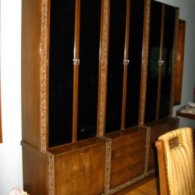 Romweber furniture this is the identical china cabinet that is located at Elvis Presleys' house in Graceland...                  BUY IT...