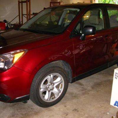 2014 Subaru Forester 18,000 miles. garage kept.  $ 14,750.00   very nice condition