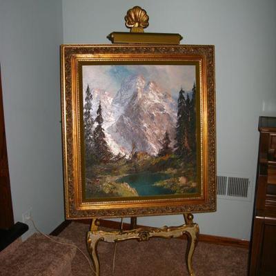 Renoir framed print