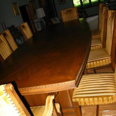 10' X 4' DINING ROOM CONFERENCE ROOM TABLE   BUY IT NOW $ 335.00