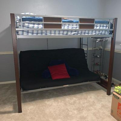 Full Size Brand New Bunk Bed & Futon