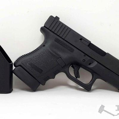 215:  Glock 30 .45 Cal Semi Auto Pistol with 2 Mags, CA Transfer Available Serial Number: CDX267 Barrel Length: 3.78