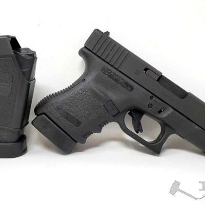 210:  Glock 30 45mm Semi Auto Pistol 2 Mags, CA Transfer Available Serial Number: DGE305 Barrel Length: 3.78