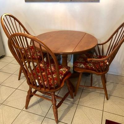 Table and 2 Chairs SOLD - 4 Chairs still available - 2 @ $50 ea., 2 @ $70 ea.