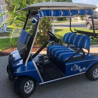 2003 Club Car Electric Golf Cart (new batteries and tires in 2015) - $800