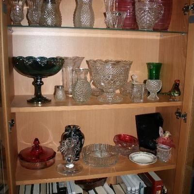 Depression Era & Collectible Glassware