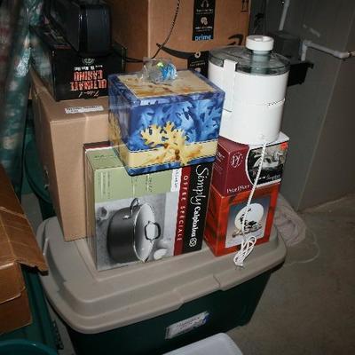 New Pots, Pans & Kitchen Items