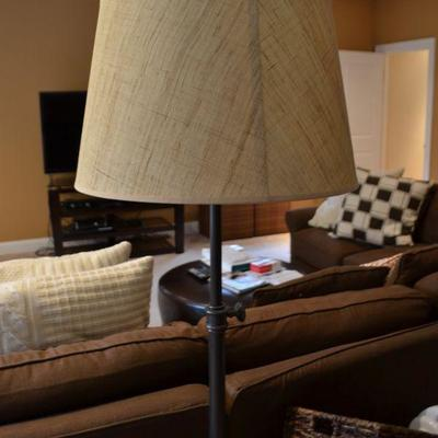 One of a pair of Pottery Barn lamps
