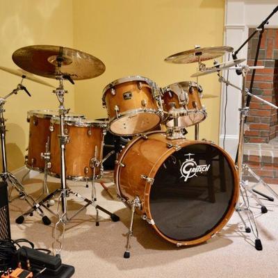 Gretsch drum set