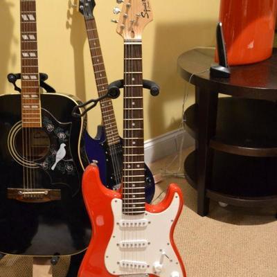 Fender Squier Mini electric guitar