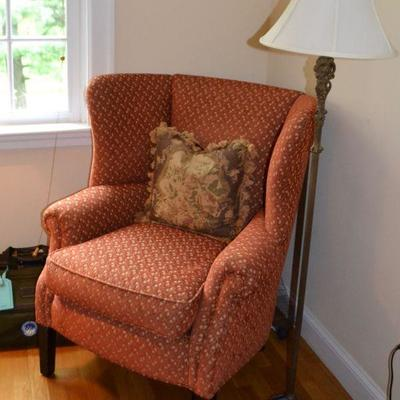 Cisco Furniture wing back chair