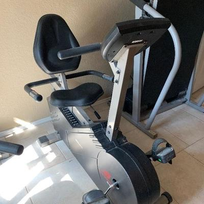 new balance recumbent bike