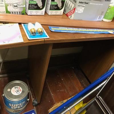 Rolling desk $10