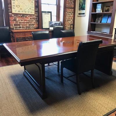 Mahogany conference table $499 94 X 48 X 39