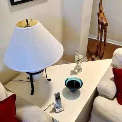 Custom Corner Table - (33W  47L  18-1/2H)
