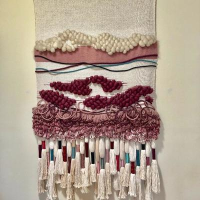 PULLED BY CLIENT - Woven Wall Hanging - (46W  72L)