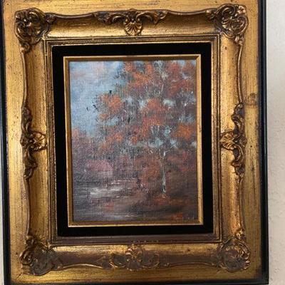 Original oil painting by Marie Reid