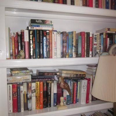 Tons of Books CD's and more
