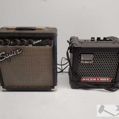Two Guitar Amplifiers Two Guitar Amplifiers