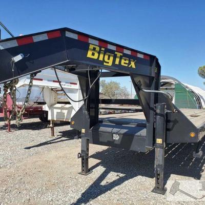 40' 2015 Big Tex Gooseneck Trailer Model 25GN-40, Torque Tube Year: 2015 Make: Big Tex Trailer Model: 25GN-40 Vehicle Type: Trailer Body...