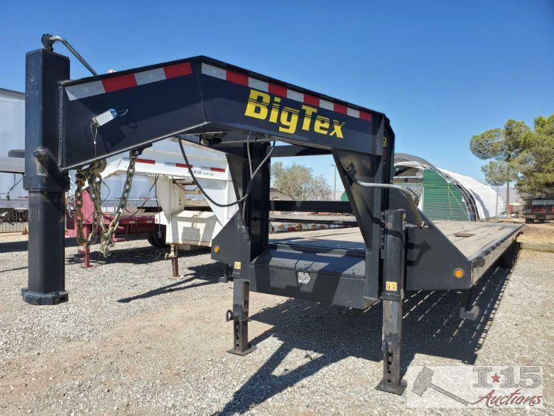"40' 2015 Big Tex Gooseneck Trailer Model 25GN-40, Torque Tube Year: 2015 Make: Big Tex Trailer Model: 25GN-40 Vehicle Type: Trailer Body Type: Flatbed VIN #: 16vgx4028f6082069  102"" x 40' Tandem Dual Wheel Gooseneck (Straight)  DMV fees: $57 and $70 doc fees"