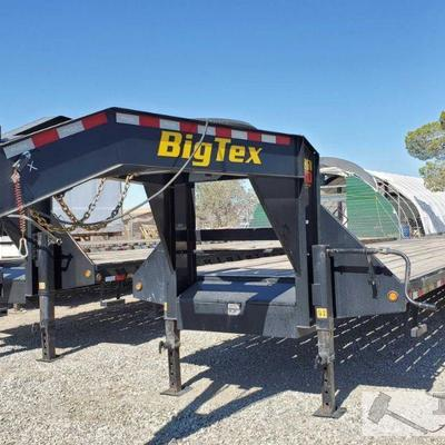 35' 2019 Big Tex Gooseneck Trailer Model 22GN-35+5, Torque Tube Year: 2019 Make: Big Tex Trailer Model: 22GN-35+5 Vehicle Type: Trailer...