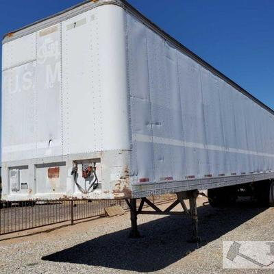 1985 Fruehauf Trailer Year: 1985 Make: Fruehauf Vehicle Type: Trailer Body Type: Box Van  VIN #: 1H4V04822FJ028502  DMV fees: $57 and $70...