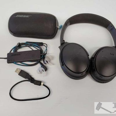 Bose OverEar Headphones and In Ear Earbuds Bose OverEar Headphones and In Ear Earbuds  OS19-030196.13