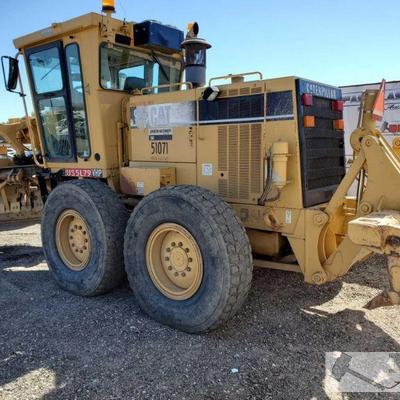 74-Caterpillar 143H Motor Grader Product Identification No. CAT0143HE1AL81167, 2001 6NC29013 Engine model: 3306