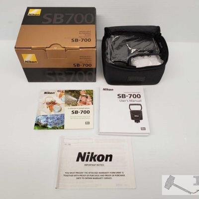 New, Nikon SB-700 Speedlight New, Nikon SB-700 Speedlight.  OS12-023563.1
