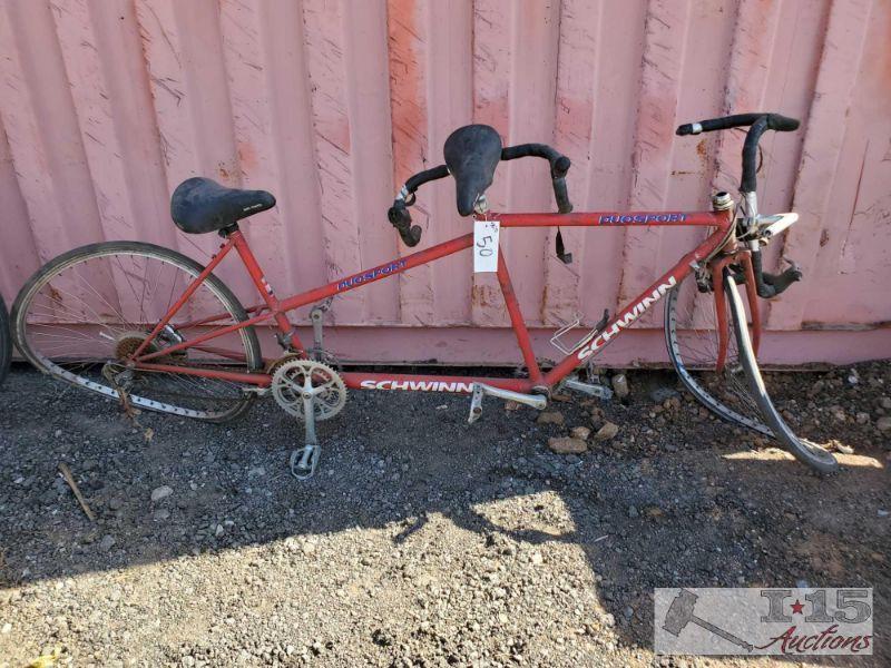 50-+Schwinn Duosport Tandem Bicycle Schwinn Duosport Tandem Bicycle
