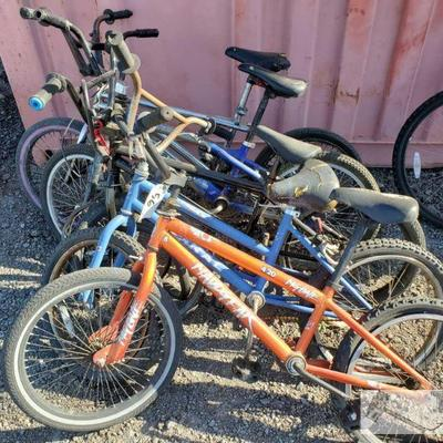 56-Five BMX Bikes Five BMX Bikes