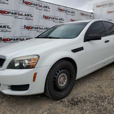 2012 Chevrolet Caprice, White Cold AC, front power windows, power mirrors, window tint Year: 2012  Make: Chevrolet  Model: Caprice...