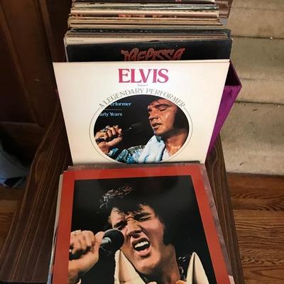 Elvis records $10 each